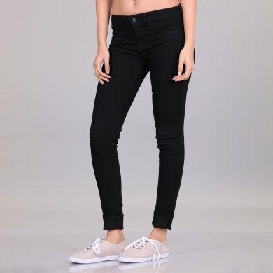Pantalón Básico Bolsillo Ultra Skinny sin Bolsas Delanteras