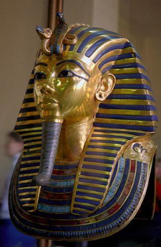 Tutankhamun's Funeral Mask. Photo by Jerzy Strzelecki in 2007 (Wikimedia)