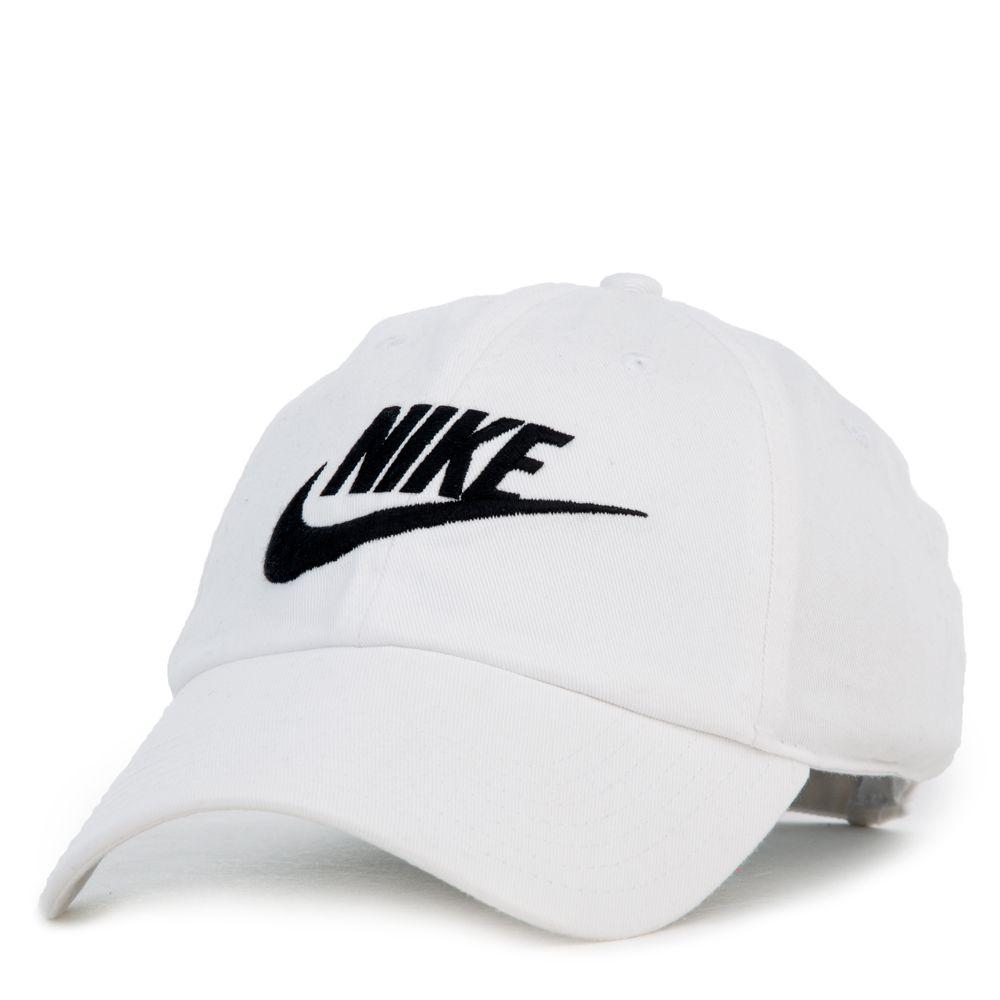 240db2447f5 H89 FUTURA WASHED DAD CAP White Black in 2019