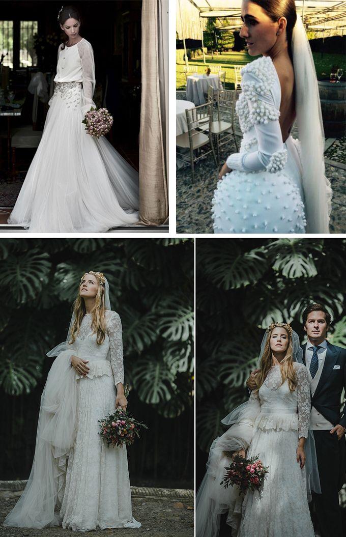 50c2982d54e Los vestidos de novia más icónicos del mundo mundial | Novias ...