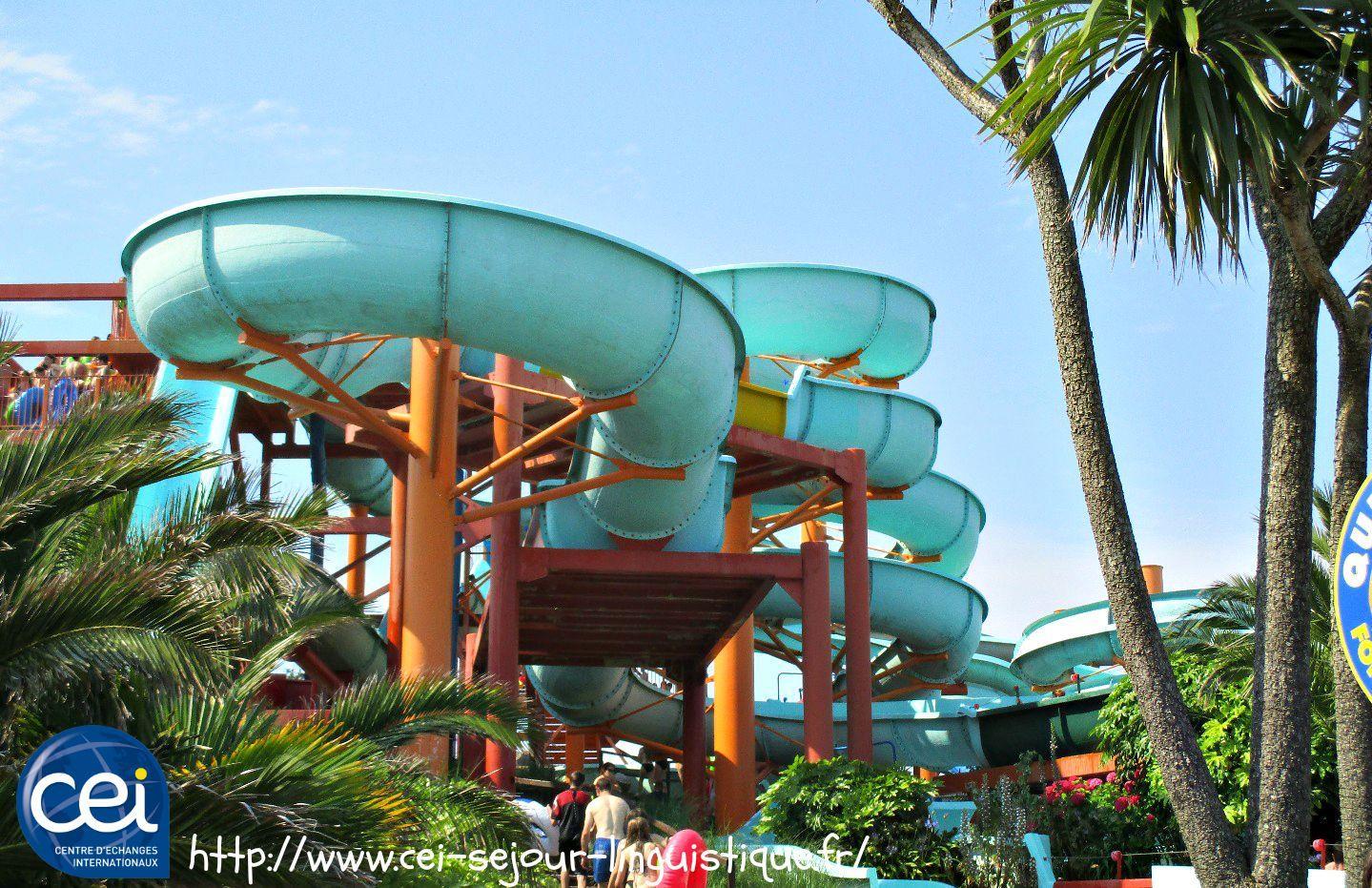 parc aquatique en anglais