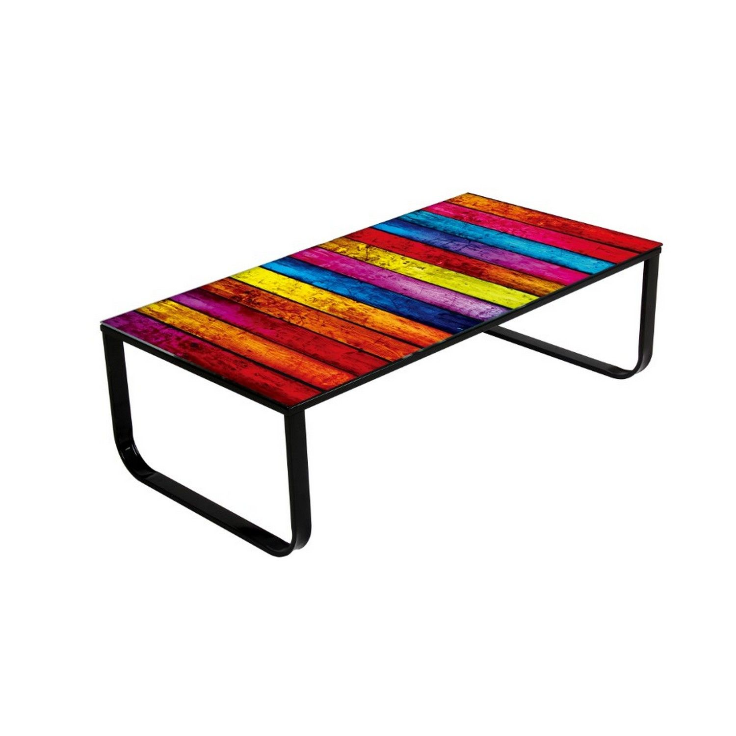 Noda Rainbow Glass Coffee Table Funky Coffee Tables Colorful Furniture Living Room Living Room Furniture Sale [ 1500 x 1500 Pixel ]