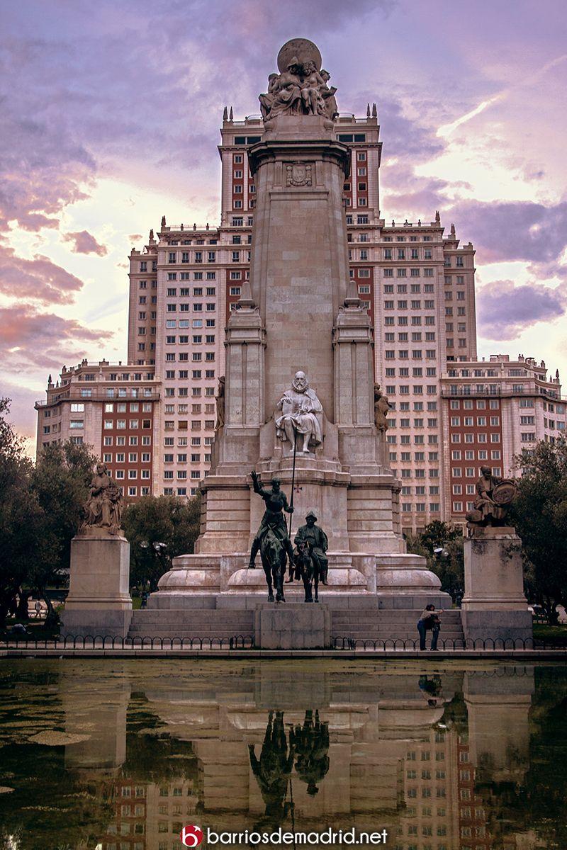 #Madrid #PlazaDeEspaña