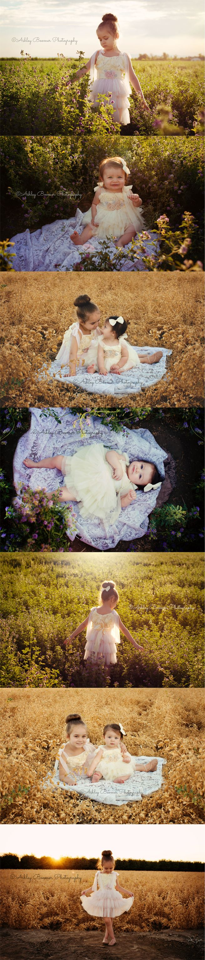 Ashley Boomer Photography | Sister sibling pictures | Outdoor child, baby, toddler photography | Emmiandlivi boutique - Etsy