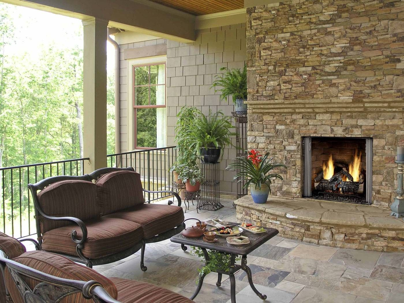 Home With Images Outdoor Gas Fireplace Indoor Outdoor