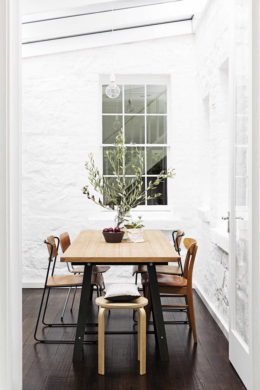 Scandinavian style dining room Photo Martina