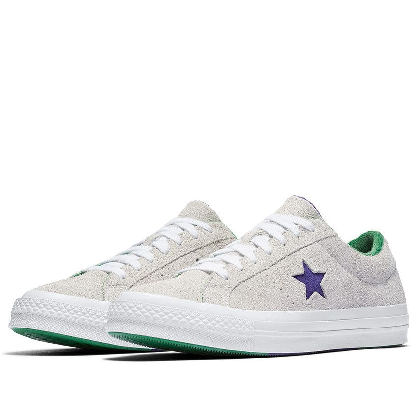 5390507f68ab One Star Grand Slam Low Top in White Court Purple Green