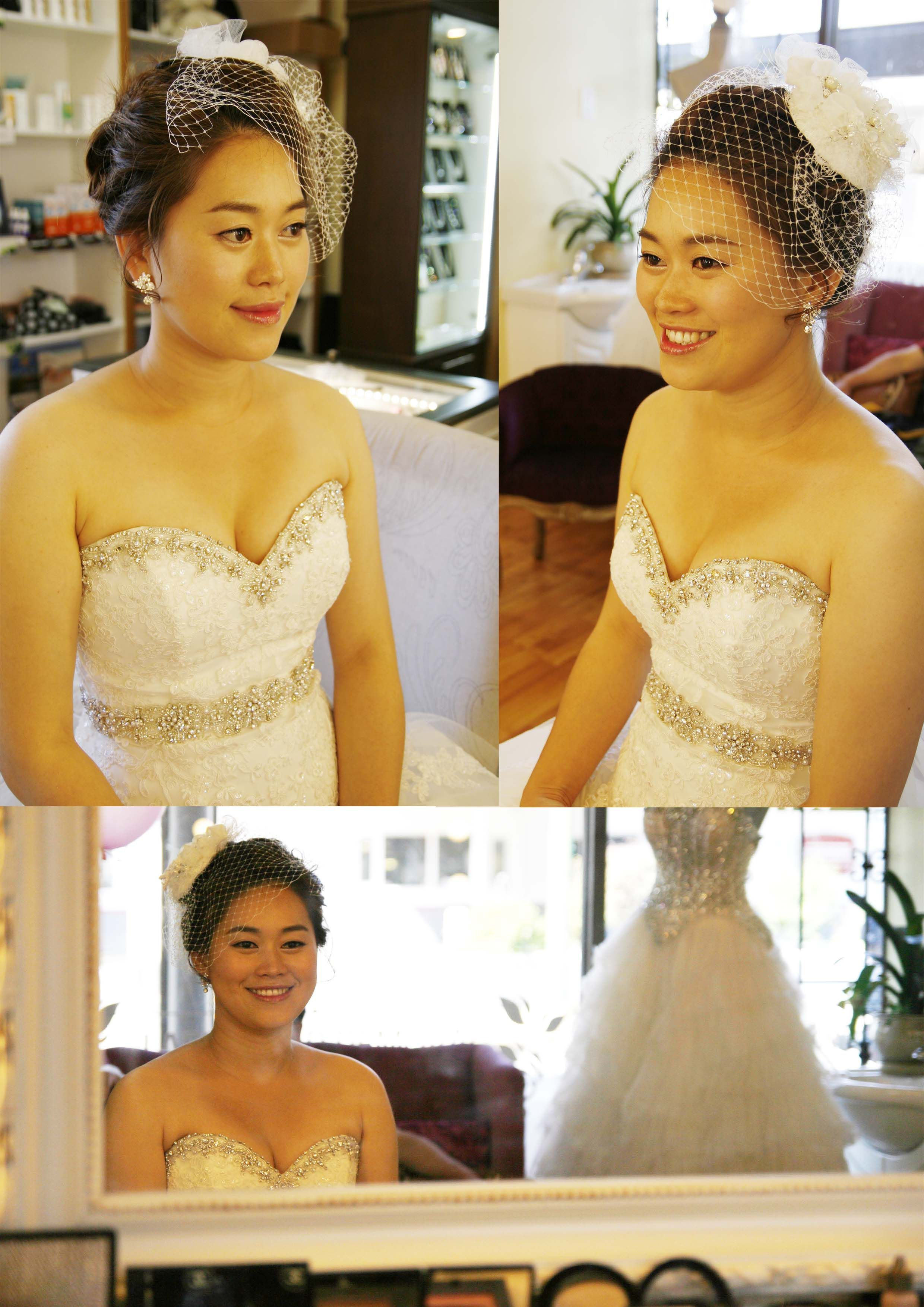 korean style makeup and hair for bride by ds veronica cho makeup