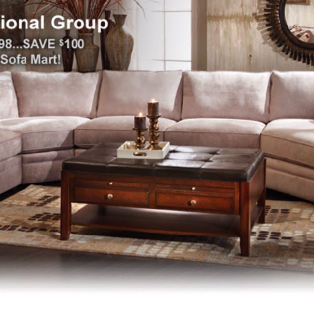 Glenwood Sectional From Sofa Mart From Jonathan Louis. Excellent Frame On  This Special Order Sectional. Sleeper Sofas