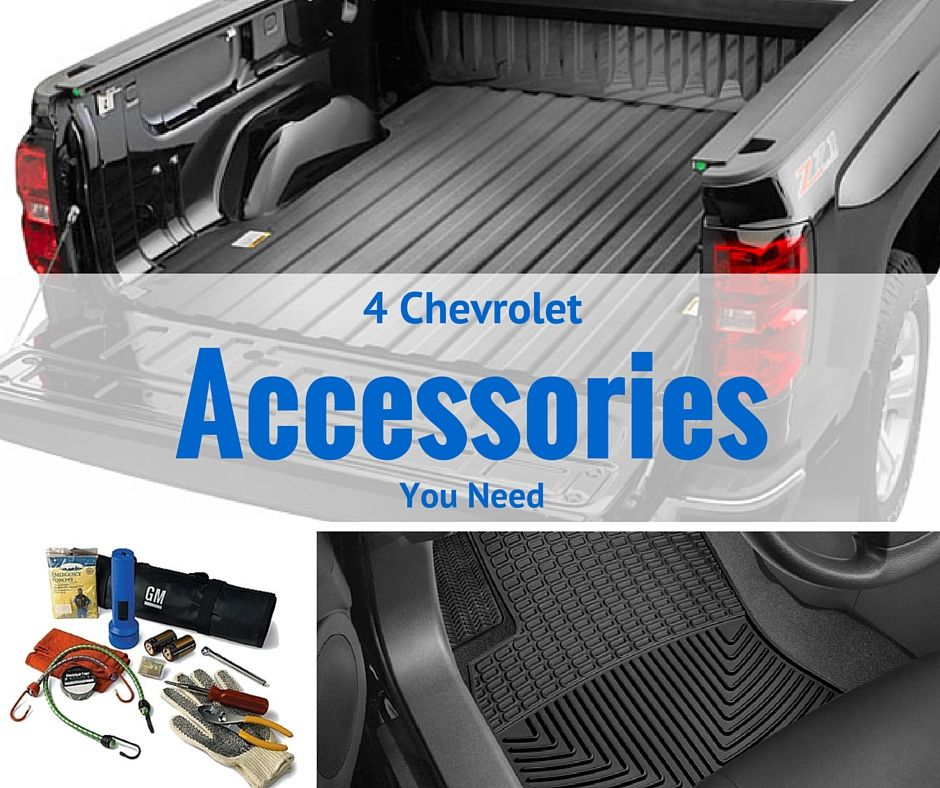 Luther Brookdale Chevrolet 4 Chevy Accessories You Need