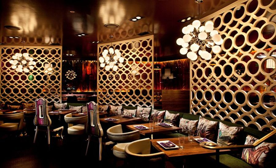Luxury And Modern Restaurant Interior Design With American Fine Dining Experience Of Johnny Small Las