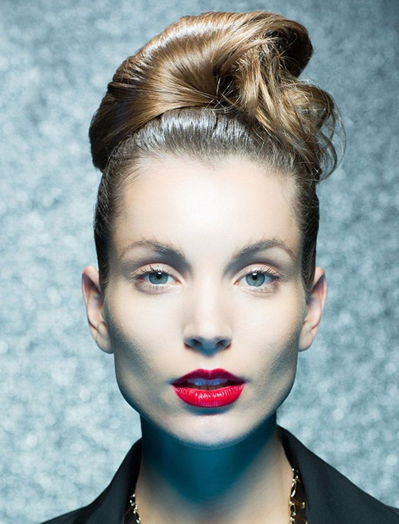 Updo Hairstyles For Round, Square Oval Faces 2018 - 2019 | Ponytail hairstyles, Medium hair ...