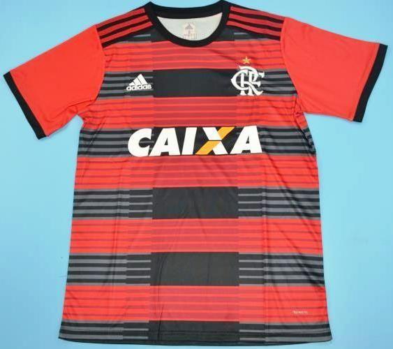 5c995bb5fa5 Maillot foot CR Flamengo 2018-2019. Voir cette épingle et d autres images  dans Soccer jerseys par JARAGUAR. Balises. Maillots De Football