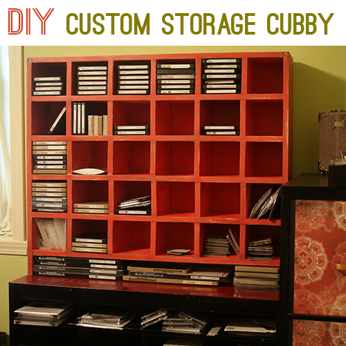 Cubby Organizer From Pottery Barn,
