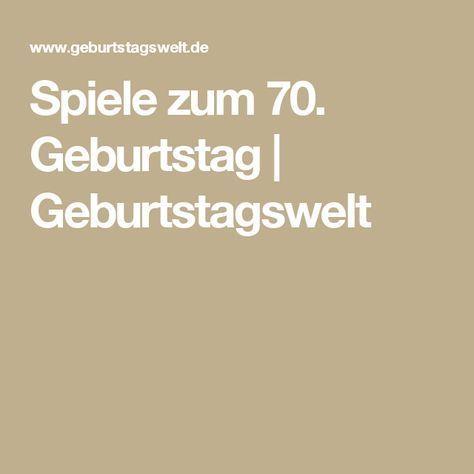 Spiele Zum 50 Geburtstag