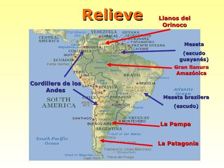 RELIEVE DE AMERICA DEL SUR PDF