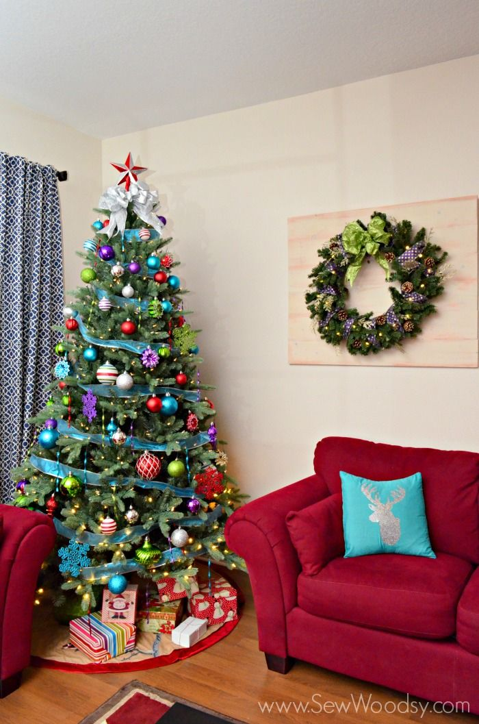 Jingle Brights @Martha Stewart Living Christmas Tree from SewWoodsy ...