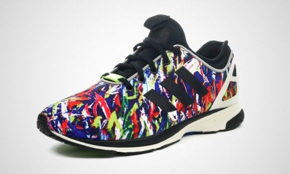 Adidas Zx Flux Nps Confetti Kix And The City Adidas Zx Flux Fresh Sneakers Sneakers