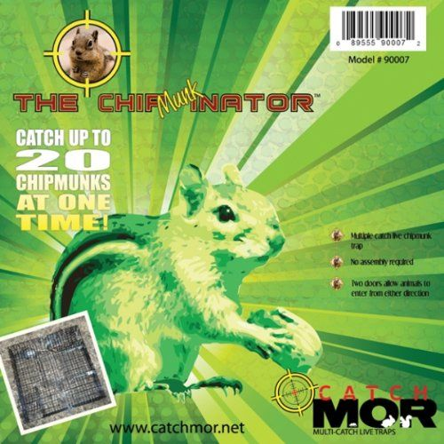 Chipmunk Trap Comparison Test Chipmunk Trap Pest Control