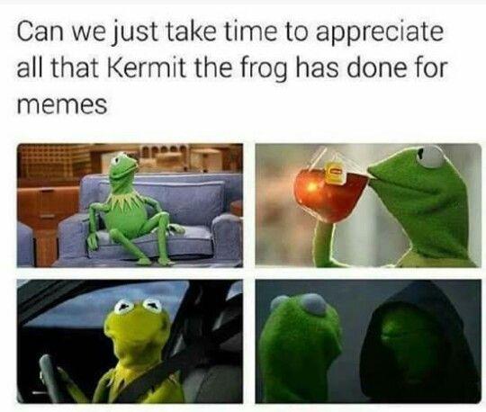 Funny Muppet Meme: Pin On Evil Kermit