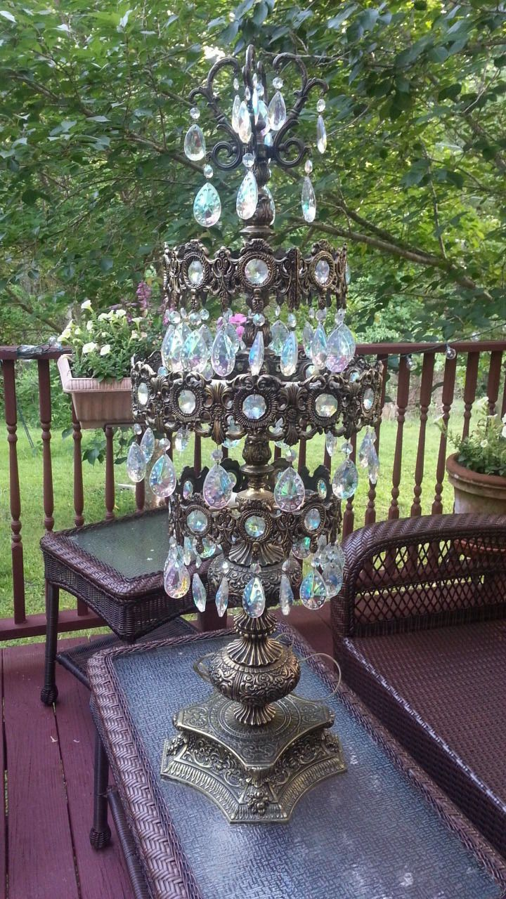 Ll wmcloevsky table lamp prismcrystal lamps chandeliers ll wmcloevsky table lamp prismcrystal geotapseo Gallery