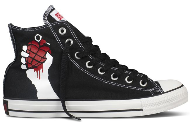 Green Day x Converse | [[ Shoes ]] | Emo shoes, Converse