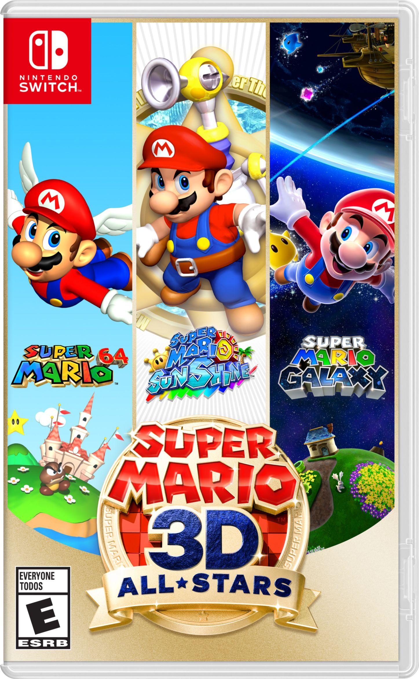 Super Mario 3d All Stars Nintendo Nintendo Switch 045496596743 Walmart Com In 2020 Super Mario 3d Super Mario Super Mario Sunshine