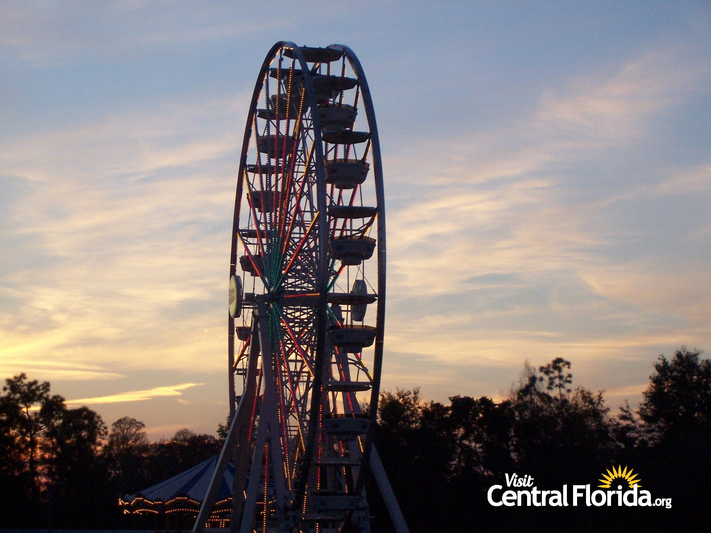 ferris wheel at cypress gardens winter haven fl historic