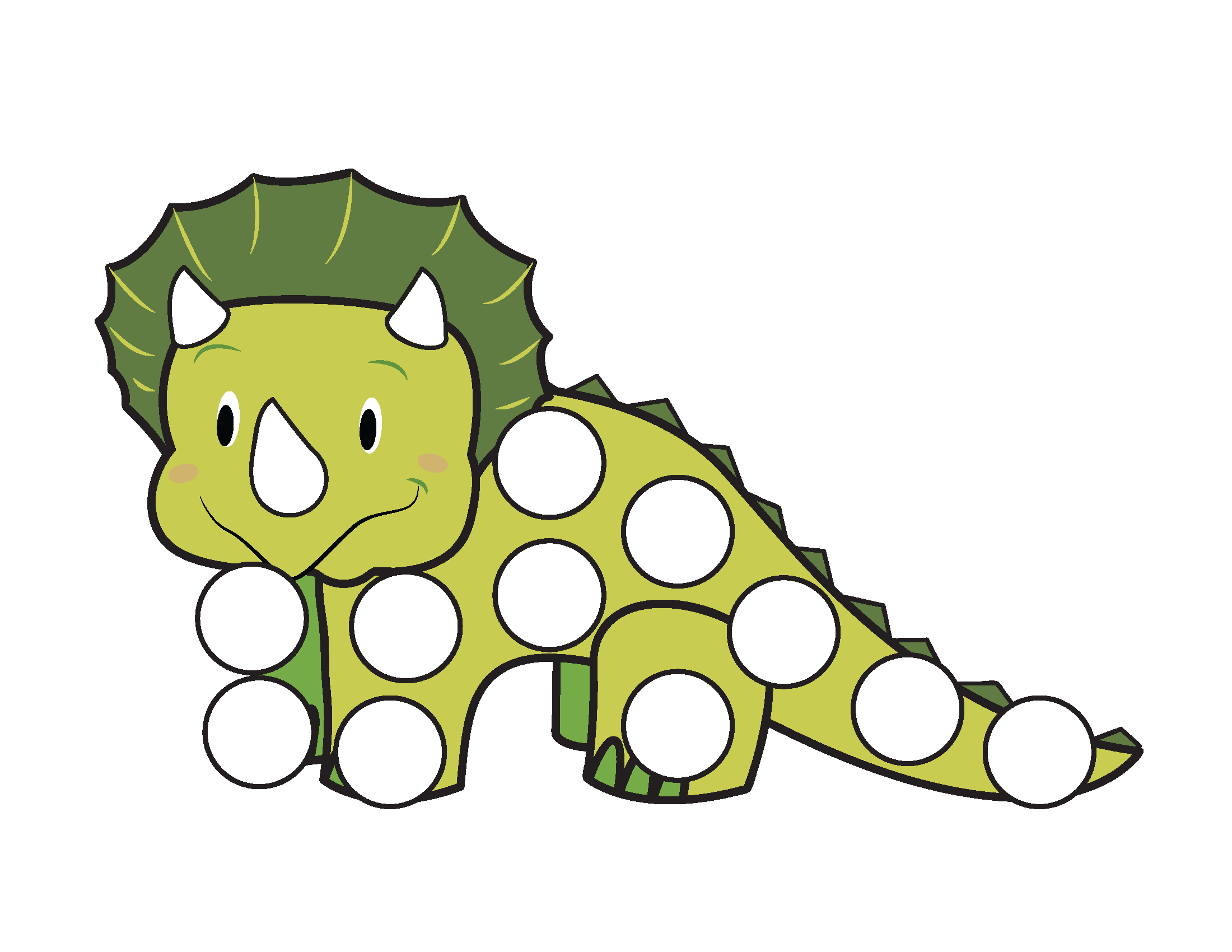 Dinosaurs Do A Dot Printables