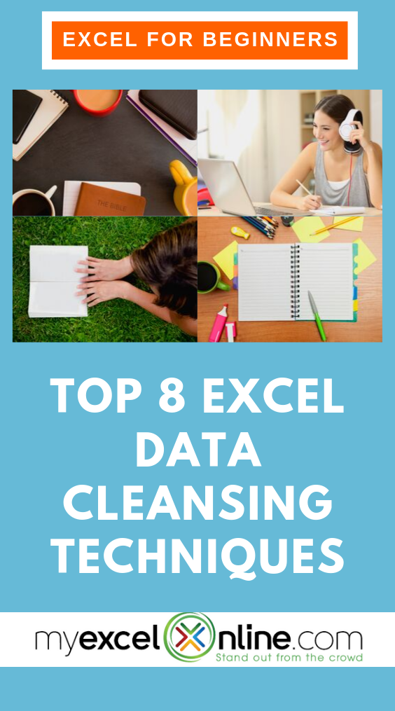 Top Excel Data Cleansing Techniques Excel for beginners
