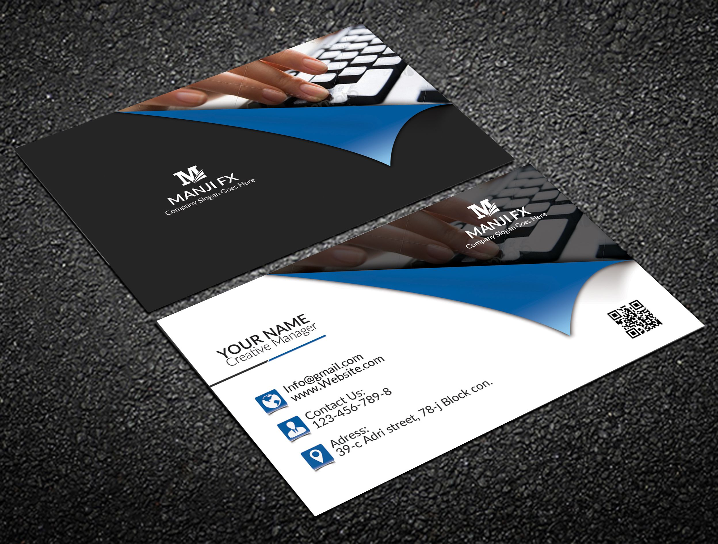 Pin By Karla Danielaa On Business Cards Post Cards Design