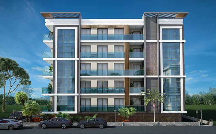 Erkaya n aat yap rnekler pinterest architecture for Fachadas de apartamentos modernos