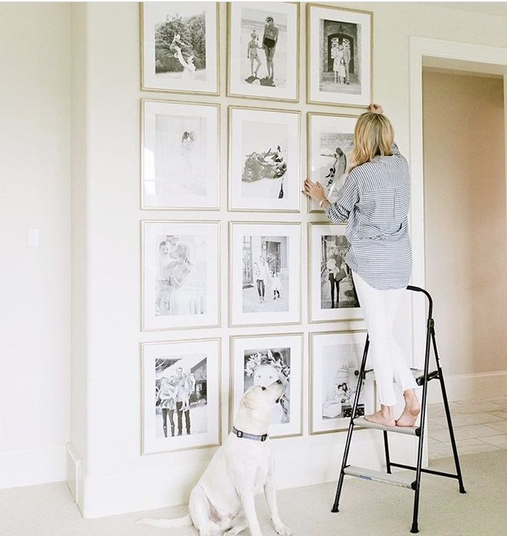 I am pretty much obsessed with gallery walls whether it\'s a random ...