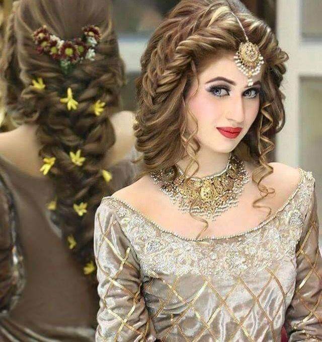 Wedding Hairstyle Pakistani: Pin By Anjum Siddiqui🌹 On Ay Inspiration Of Traditional