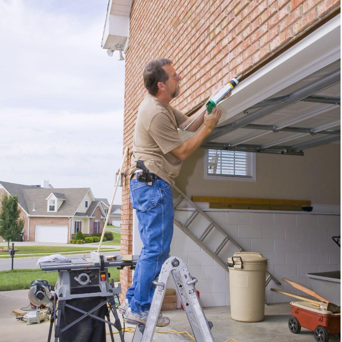 Not only does sealing your garage door keep heat in—it