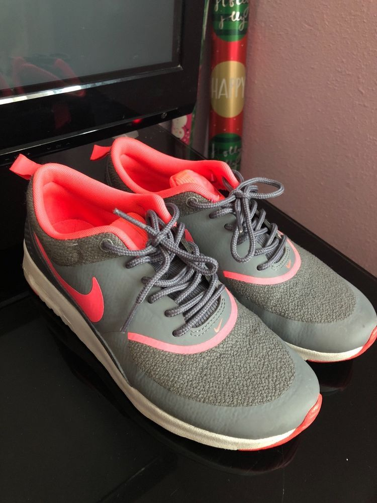 newest collection cb644 8a61c PINK AND GREY NIKE AIR MAX THEA SIZE 6 WOMENS Great condition!  fashion   clothing  shoes  accessories  womensshoes  athleticshoes (ebay link)