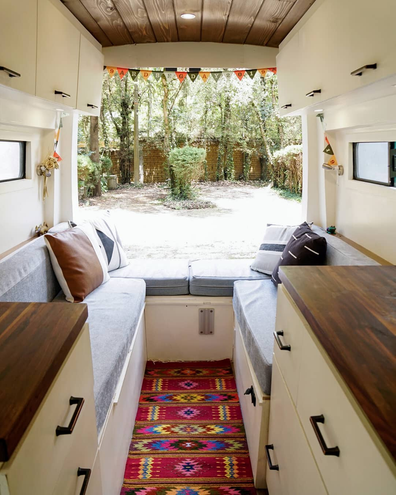 Photo of Most Beautiful Self Converted Ford Transit Van.