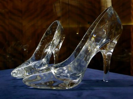 Transparent Wedding Shoes, Ie. Glass Slippers. I CAN BE CINDERELLA!