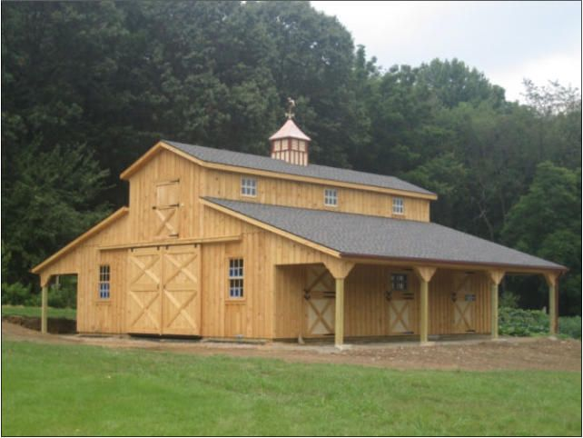 6 stall monitor barn plan google search horses for 6 stall barn plans