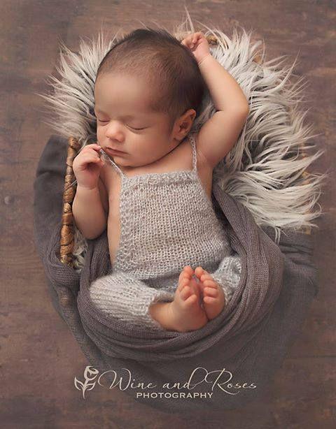Infant overalls knit romper newborn photo prop newborn boy overalls open back romper baby long pants pinterest newborn photo props newborn photos