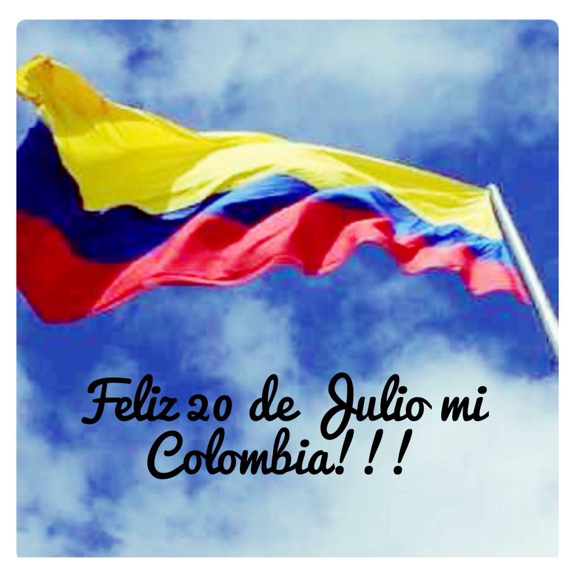 Celebremos 20 De Julio. Colombia ❤️