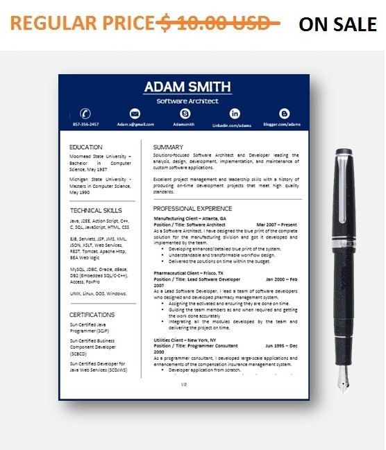 Software Architect Resumes: Software Architect Sample Resume Entrancing Format Of