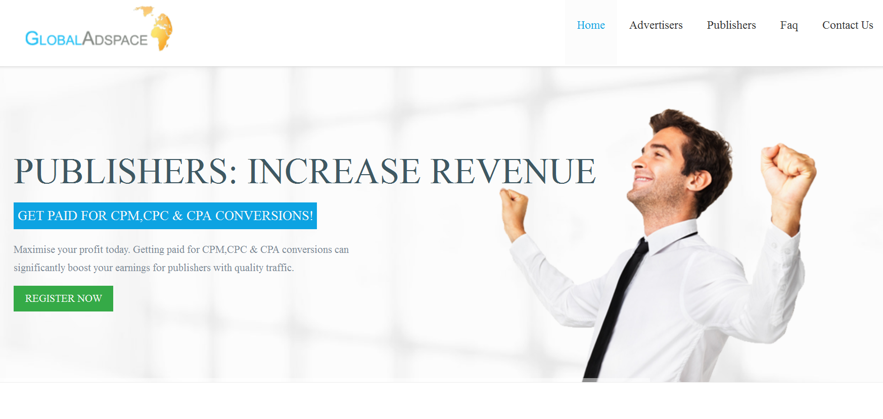 Globaladspace Review : Online Advertising Network | Blogging