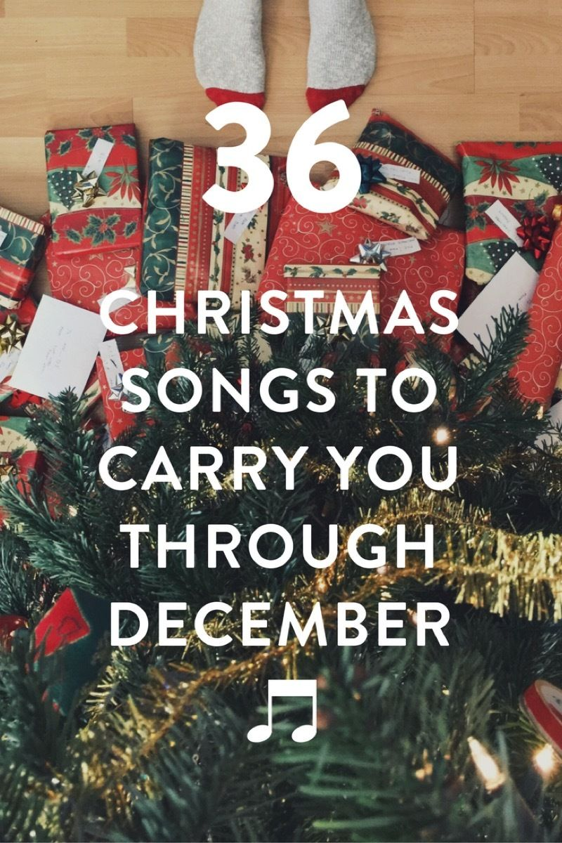 36 Christmas Songs to Take You Through December