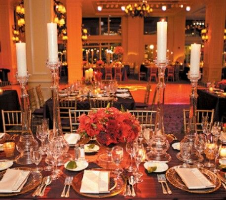 Crystal table setting   Party Planning   Pinterest   Party planning