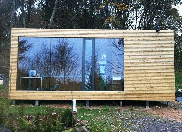 Trend Neubau Garten Studio Office prodesignhome Holzhaus Selbstbauhaus
