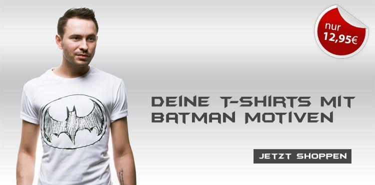Was sagt Ihr zu den T-shirts mit Batman Motiven? Sie sind echt Klasse! Finde deine Farbe! https://www.bolf.de/t-shirt-glo-story-5152-weiss/a-8052/