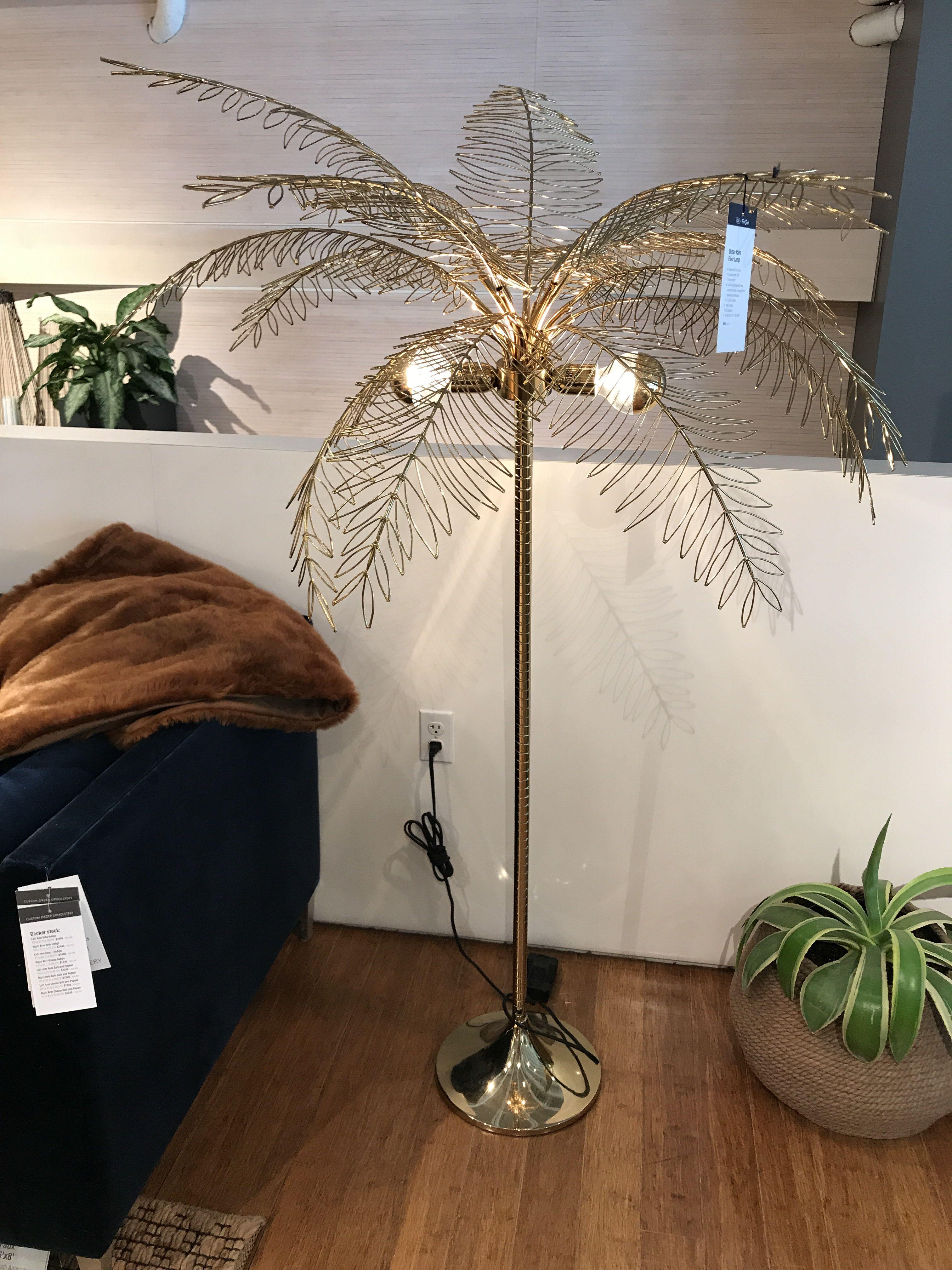 Ocean Palm Tree Floor Lamp Reviews Cb2 Tree Floor Lamp Globe Bulbs Palm Springs Interior Design