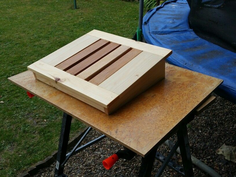 Latest project is a foot rest requested by a friend for