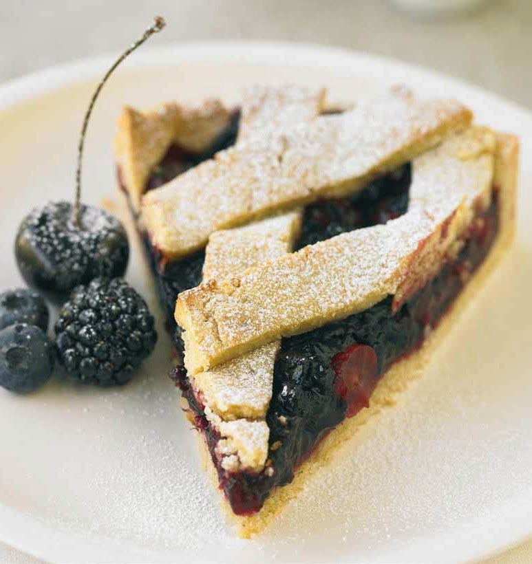FRUITS OF THE FOREST TART ( 8 to 10 people ) | easy recipes